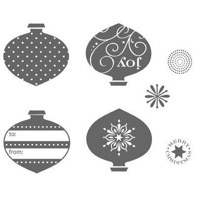 STAMP SET - 116517L Delightful Decorations